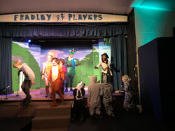 Tech Rehearsal - Captain Hook, Louis, Peter Pan, Rafe, Michael, Twins, Essence and Nibbles