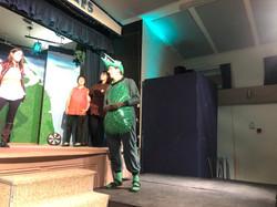 Tech Rehearsal - Louis the Crocodile first scene
