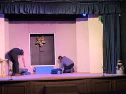 Tech Rehearsal - Mr and Mrs Darling