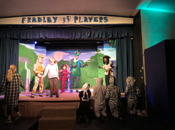 Tech Rehearsal - Captain Hook, Louis, Peter Pan, Rafe, Michael, Tinkerbell, Twins, Essence and Nibbl