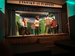 Tech Rehearsal (2) - Captain Hook, Calypso, Harry Hook, Bacardi and Dave