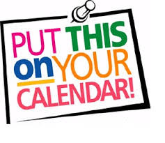 SCWC General Meeting this Wednesday in the Parish Hall and other Events You Don't Want to Miss!!