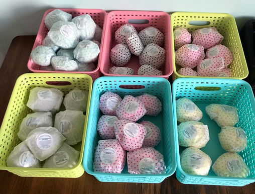 Bath Bombs by Crafted Comforts