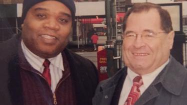 Paul Eliacin and Congressman Jerry Nadle