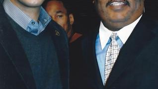 Paul Eliacin and Bronx boro president Ru