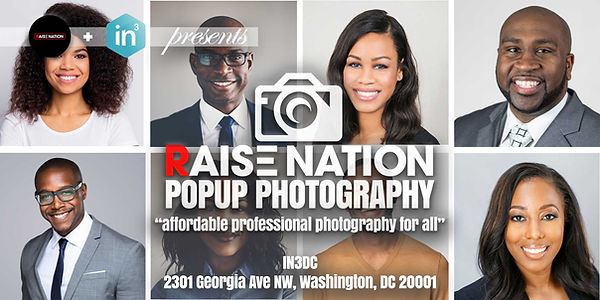 Raise Nation PopUp Photoshoot's Flyer