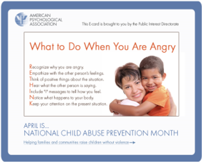 Child Abuse Prevention ECard