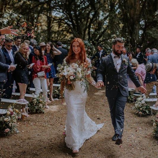 India & Francois Wedding The Hedges Auck