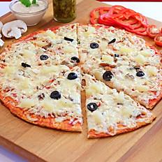 Пицца КУРИНАЯ С АНАНАСОМ L   25см 360гр