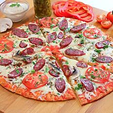 Пицца ОХОТНИЧЬЯ L-25 см.360 гр.