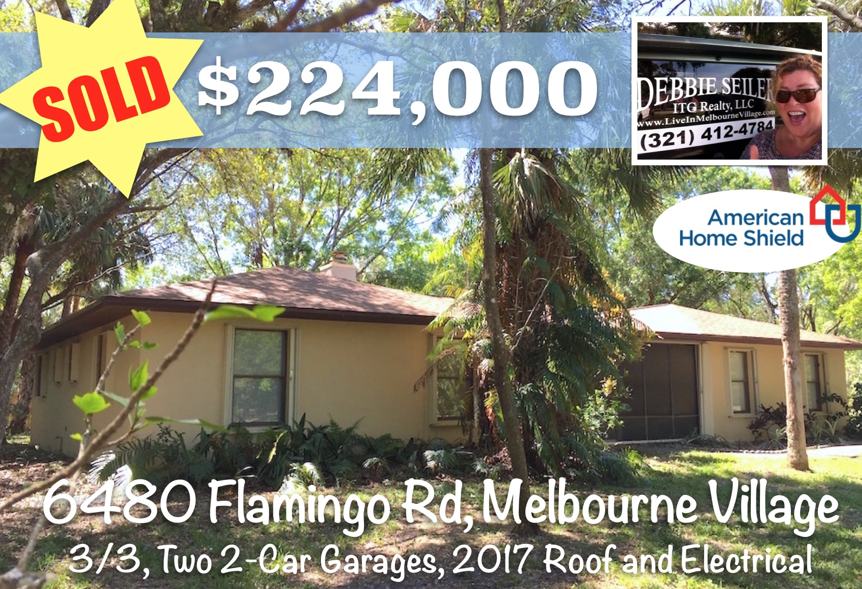 Sold Postcard 6480 Flamingo