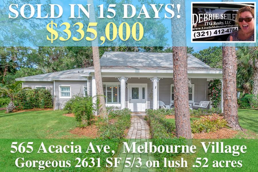 565 Acacia SOLD postcard