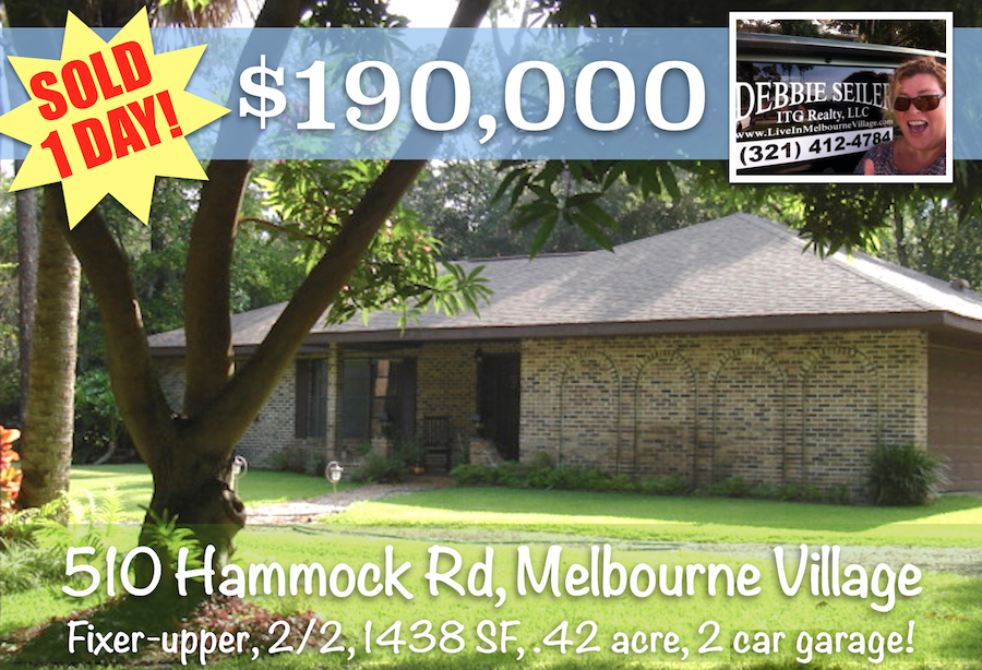 Sold Postcard 510 Hammock Rd