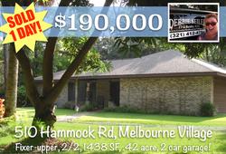 Sold Postcard 510 Hammock Rd