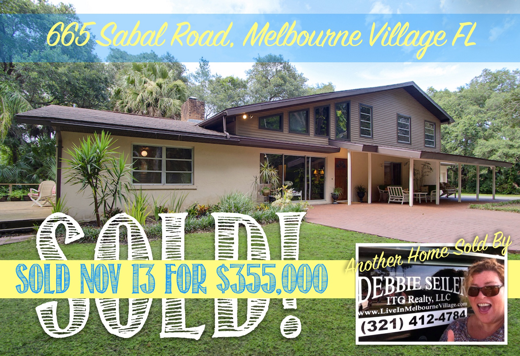 665 Sabal Sold in Melbourne Village