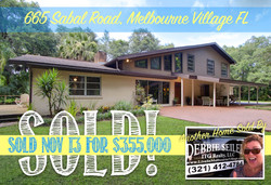 665 Sabal Sold in Melbourne Village