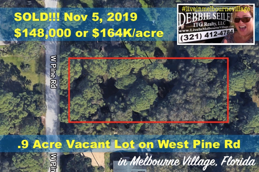 SOLD Lot B West Pine