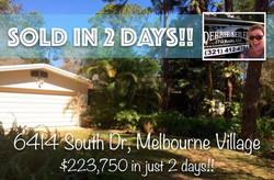 6414 South Sold in MV
