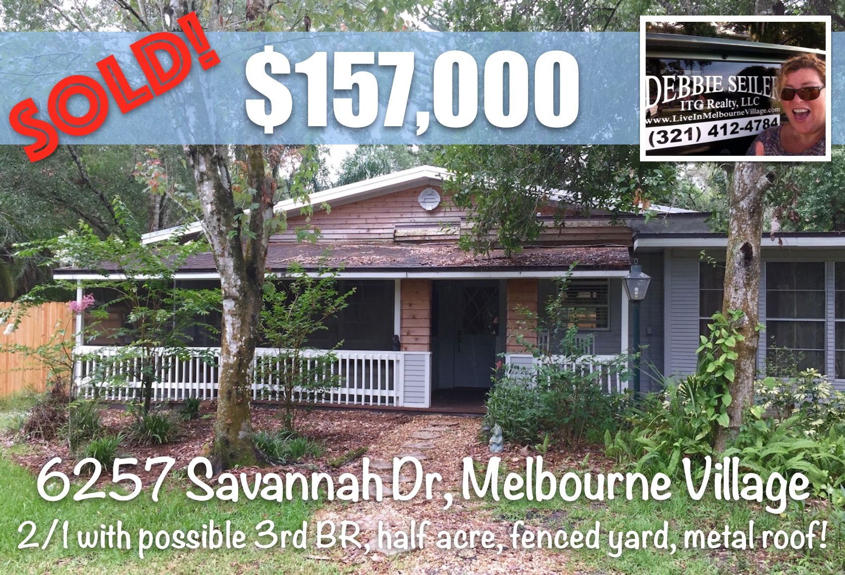 6257 Savannah Sold Melbourne Village