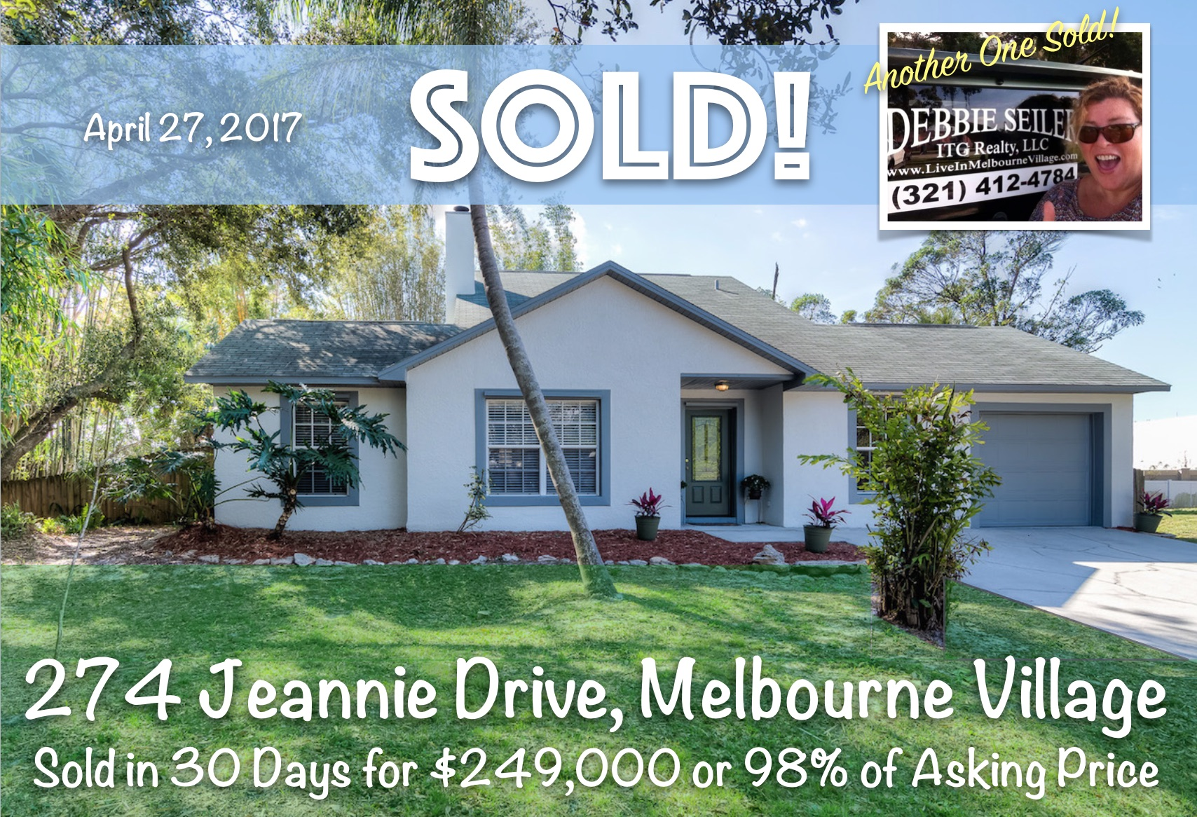 274 Jeannie Sold in Melbourne Villag
