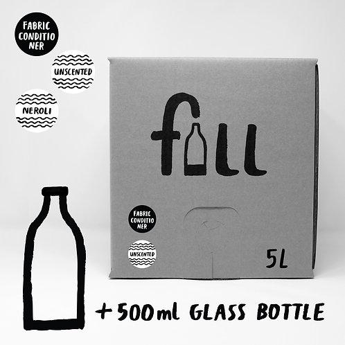 Mýkingarefni 5L + flaska