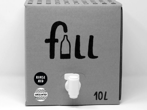 Uppþvottagljái 10L + flaska