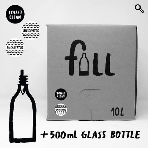 Salernishreinsir 10L + flaska