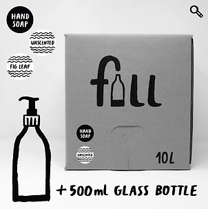 Handsápa 10L + flaska