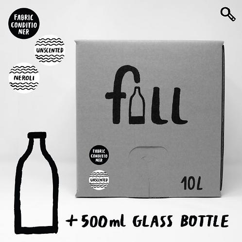Mýkingarefni 10L + flaska