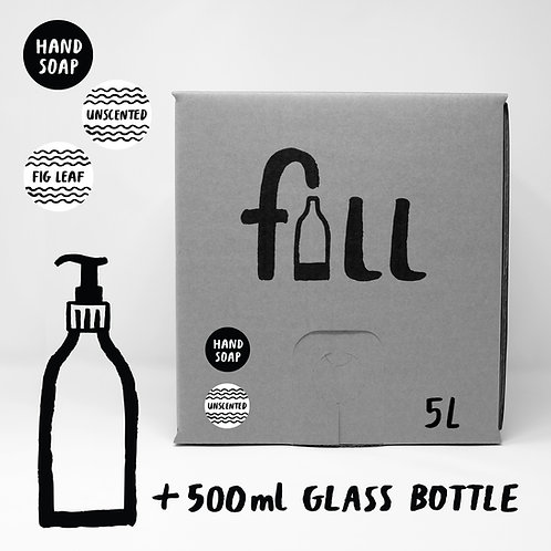 Handsápa 5L + flaska
