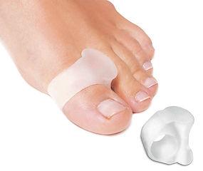Separadores de dedos anillo gel
