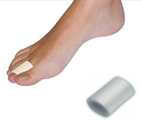 Anillos digitales de gel alivia la presión en los dedos del pie