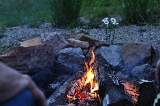 Enjoy an evening by the campfire