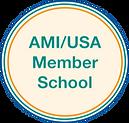 AMI_USA Member School Seal.png