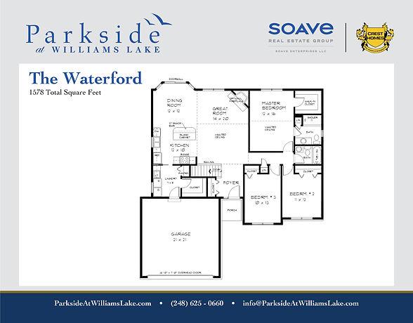 Crest Homes_ParksideWL_Model Floor Plan