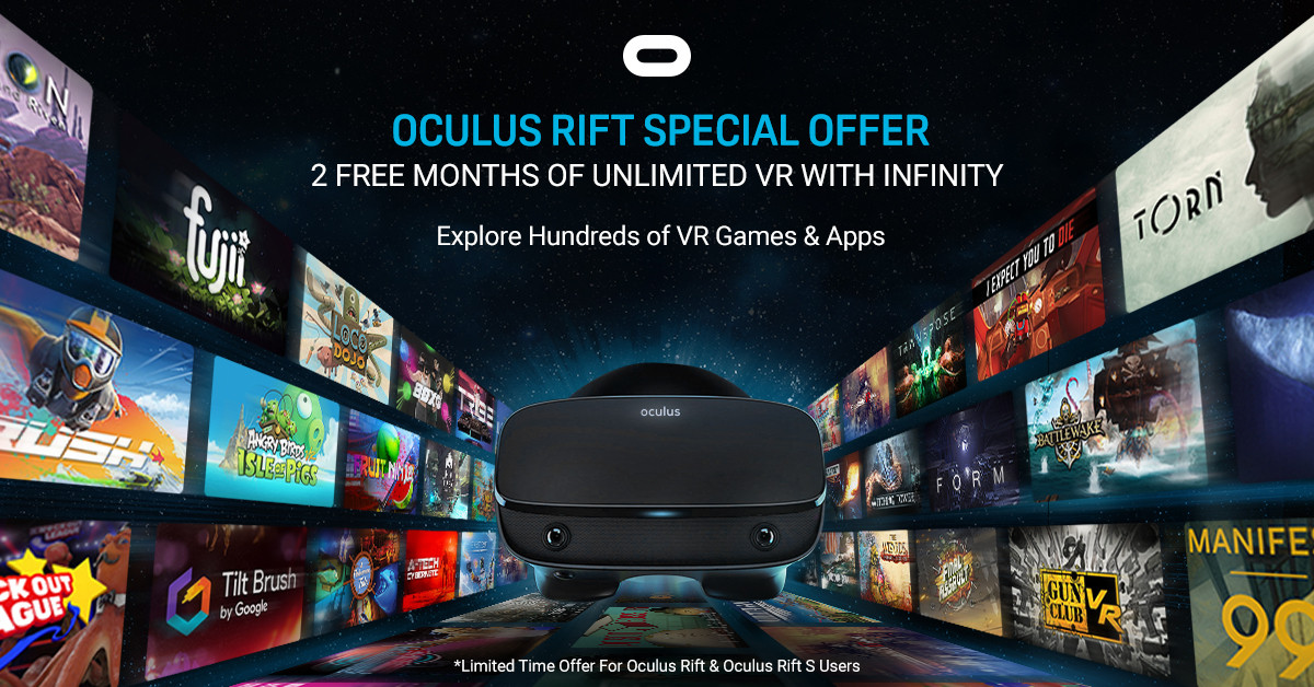 Oculus Rift  -  2-Month Freebie