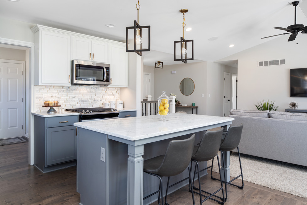 Open Floor Plan at Parkside at Williams Lake