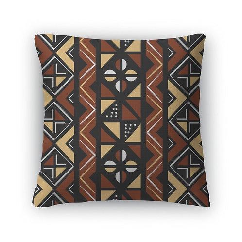 Throw Pillow, African Pattern