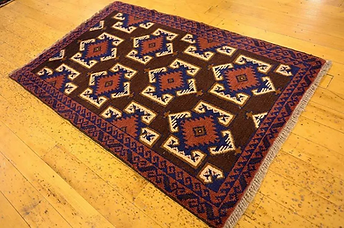 Baluch Persian Rug - hand-knotted in Afghanistan