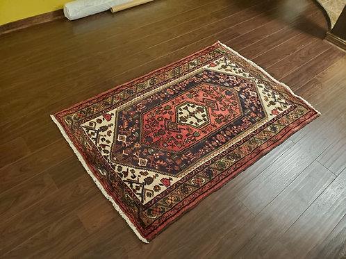 Hamadan Persian Rug - Full View - SKU 142 - Shoppersianrugs.com