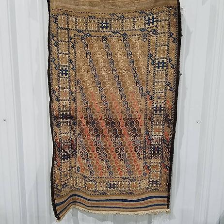 1900 - 1920's Antique Baluch Rug