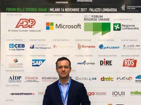 Belloni Studio Legale al Forum Risorse Umane 2017 - Palazzo Lombardia