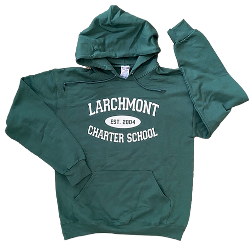 Green Larchmont Hoodie (Adult)