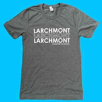 3 rows of larchmont with color backgroun