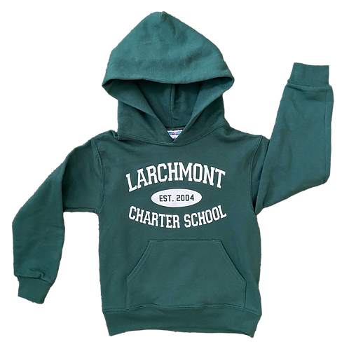 Green Larchmont Hoodie (Youth)