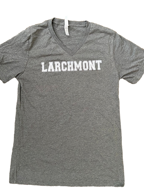 Gray V-Neck Larchmont Shirt (Adult)
