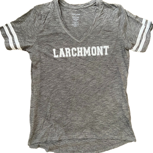 Gray Striped Larchmont Shirt (Adult)