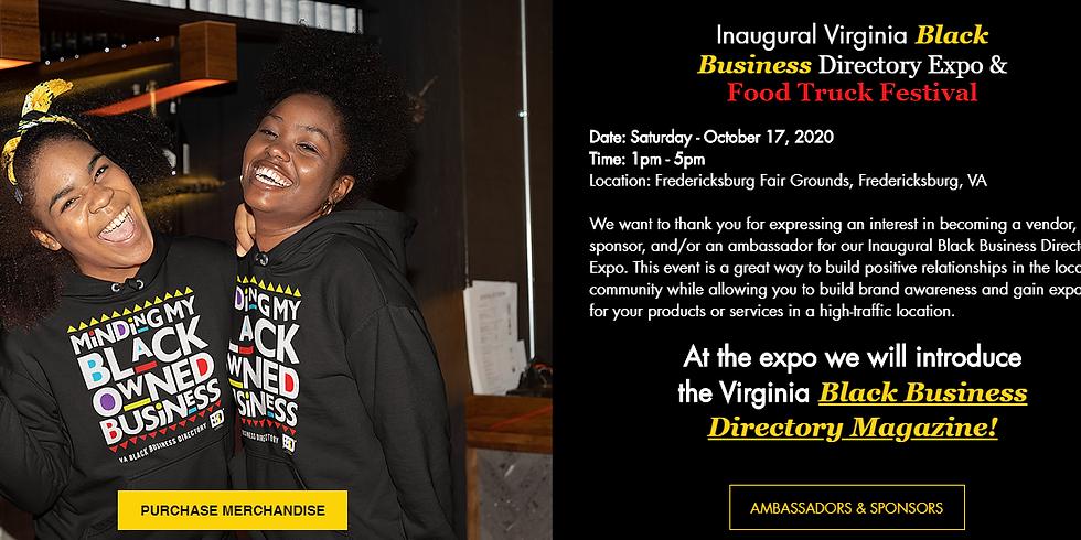 Inaugural Virginia Black Business Directory Expo & Food Truck Festival