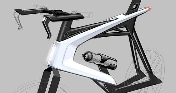 #voronoi bike, #3d printing, #bike design, #klio