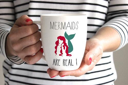 Mermaid Porcelain Mug